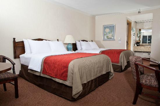 Comfort Inn Near Pasadena Civic Auditorium: Double Room