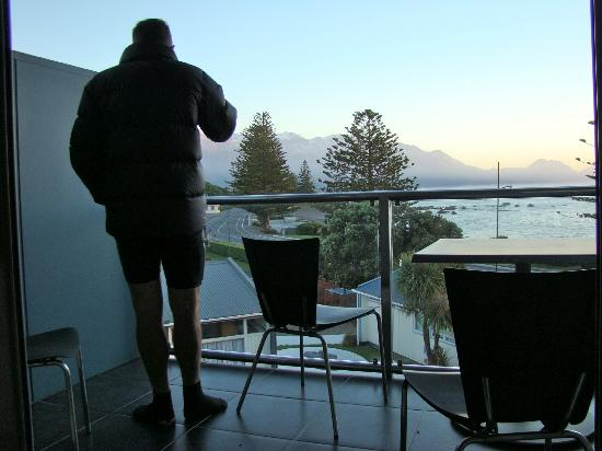Kaikoura Apartments: Balcony
