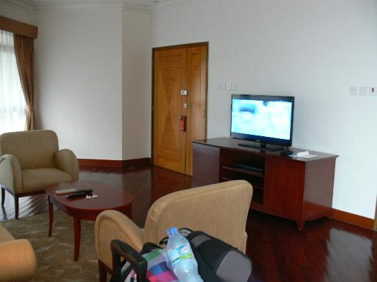 Riverside Serviced Apartments: LoungeArea