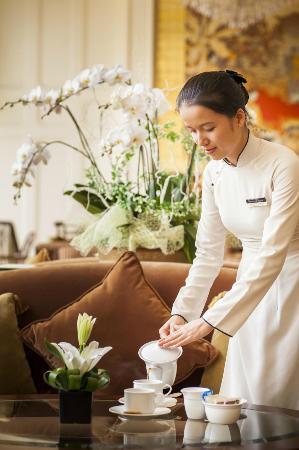 Indochine Palace: tea & coffee lounge