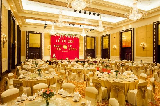 Indochine Palace: banquet room