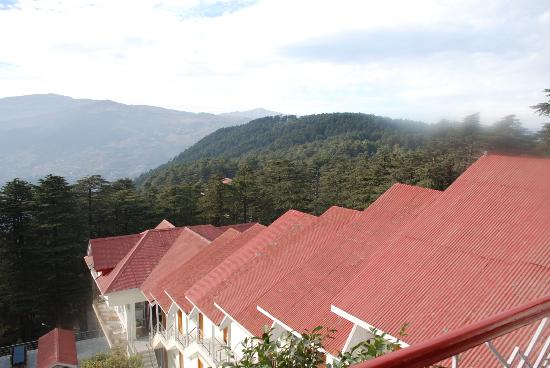 Hotel  Green Top: View of the adjoining Hills from the room