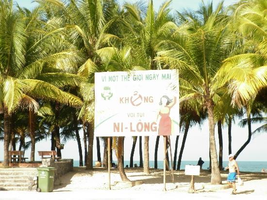 Non Nuoc Beach: banner