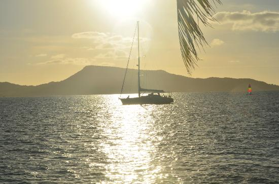 Petit St. Vincent Resort: Sunsets are astounding!