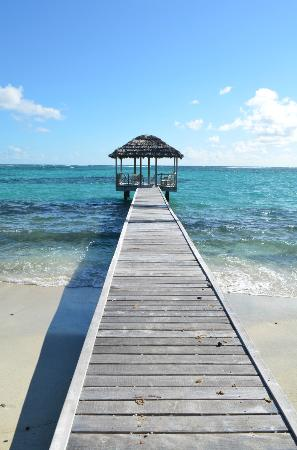 Petit St. Vincent Resort : Have lunch on the East Side Dock.