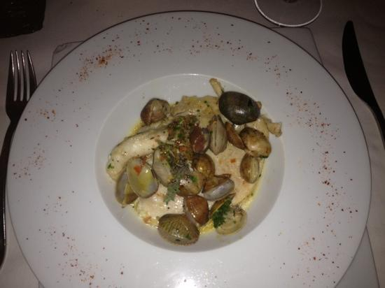 COSMOPOLITAN RESTAURANT : St Pierre with little Clams