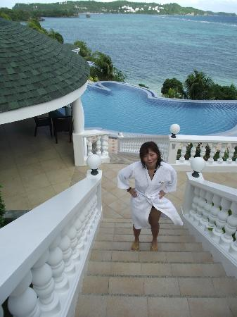 Monaco Suites de Boracay: Just came back from swimming
