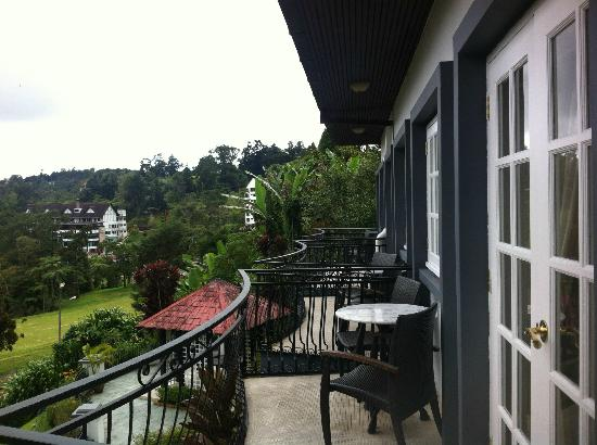 Cameron Highlands Resort: View from room balcony