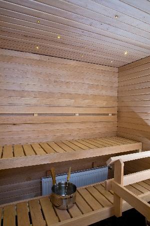 Ski-Inn PyhaSuites Apartments: PyhäSuites 55m² apartment's sauna