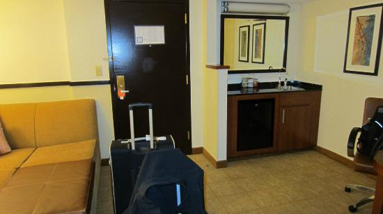 Hyatt Place Atlanta Airport - South: view from middle of room