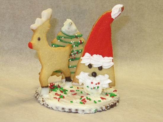"""Henrietta's Pine Bakery : """"3D"""" cookies"""