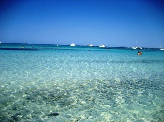 Playa de Es Trenc: Mar azul turquesa