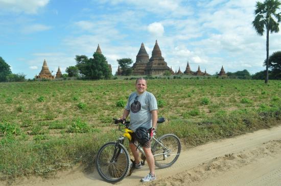 Bike World Bed, Breakfast & Bike: Biking around in Bagan with a BW bike