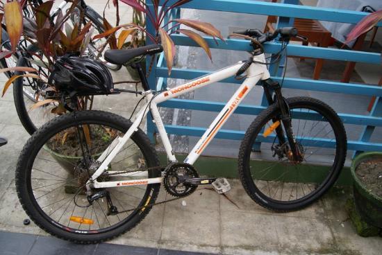 Bike World Bed, Breakfast & Bike: BW bike I used in Yangon