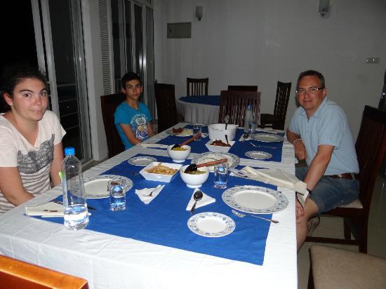 Skydale: Un repas fait maison et copieux
