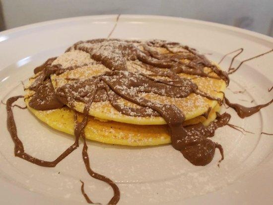 Crepes de Lune: pancake alla nutella