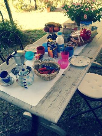 Da Alice: Breakfast in the garden