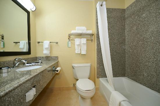 Best Western Plus Kansas City Airport-Kci East: Guest Room Bathroom