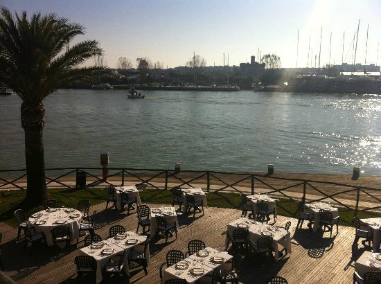 terrazza al sole - Picture of Gina a porto romano, Fiumicino ...