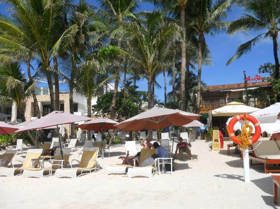 La Reserve Beach Hotel: Beachfront