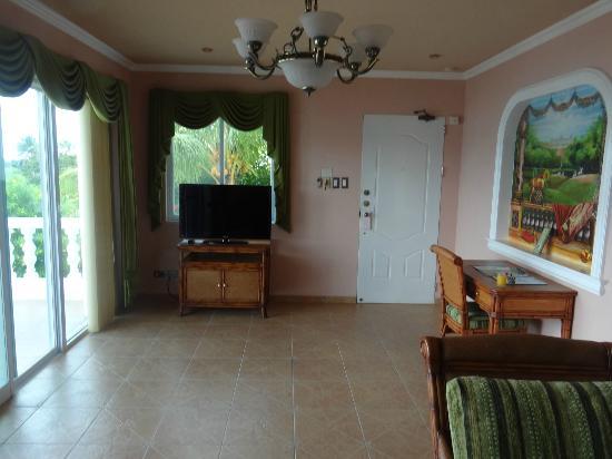 Monaco Suites de Boracay: another view of the livingroom