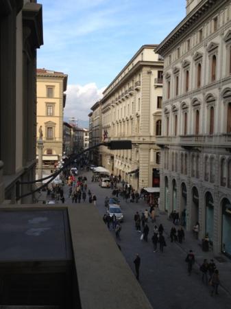 Bed and Breakfast Repubblica: piazza della repubblica vista in proiezione laterale