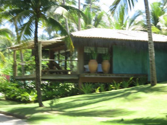 Txai Resort Itacaré: Bangalô na praia...