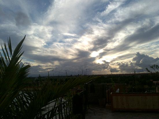 Dar Dubai: vue ciel terrasse