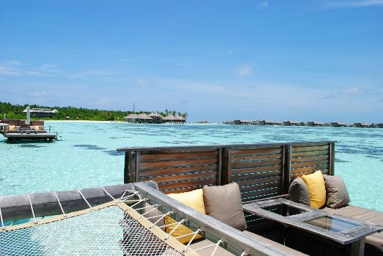 Gili Lankanfushi Maldives: SunDeck on our room