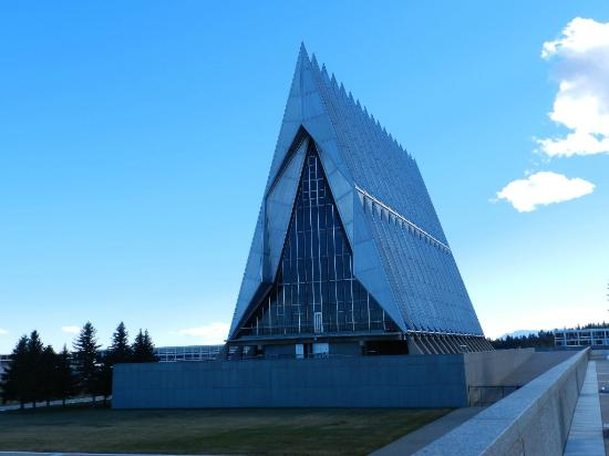 United States Air Force Academy : US Air Force Academy Chapel