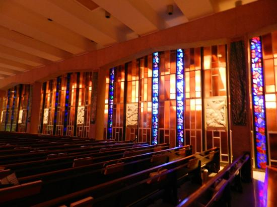 United States Air Force Academy: Stained Glass - Catholic Chapel