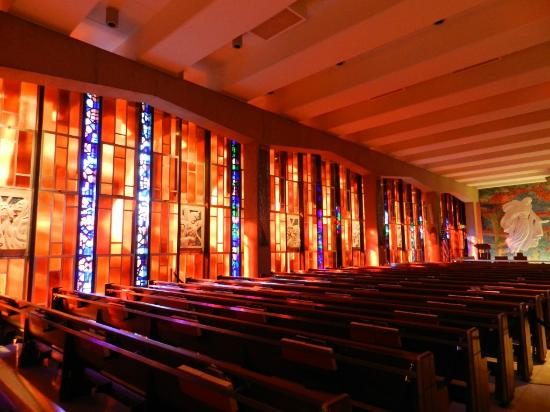 United States Air Force Academy: Stained Glass Windows Catholic Chapel
