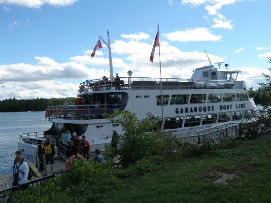 Gananoque Boat Lines Picture Of Gananoque Boat Line