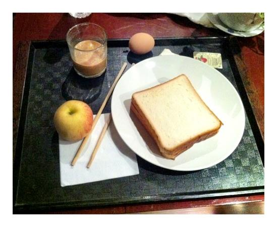 Kingland Serviced Apartments: Frühstück oder so