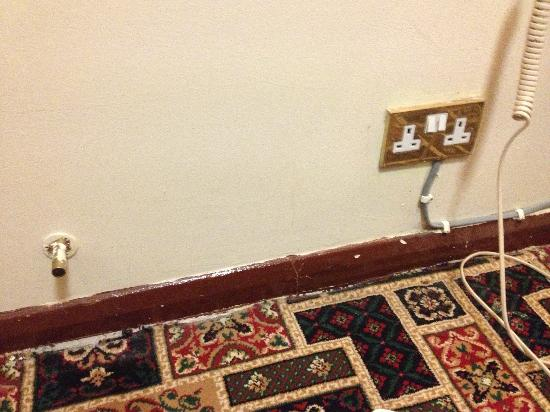 Hyde Park Court Hotel: Dodgy electrics and carpets.