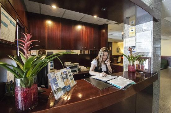 Hotel La Peregrina: Recepción