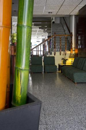 Hotel La Peregrina: Entrada
