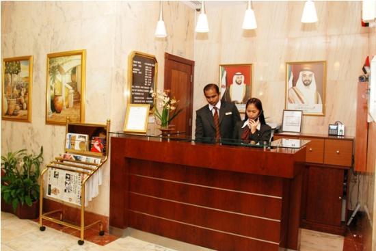 Asfar Hotel Apartments: Reception