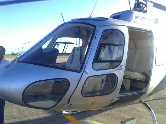Žerikuakuara, CE: Helicoptero para Jeri