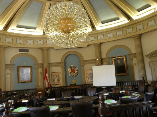 Kingston City Hall: Council Chambers