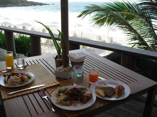 Sai Kaew Beach Resort: 朝食