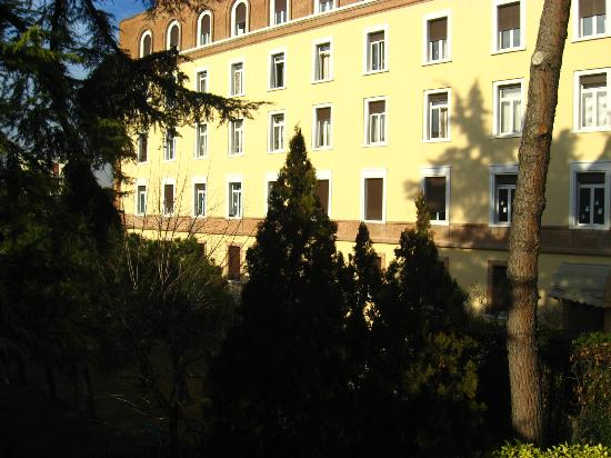 Novo Hotel Rossi: view from our window