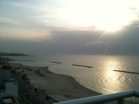 Orchid Tel Aviv: view from the room