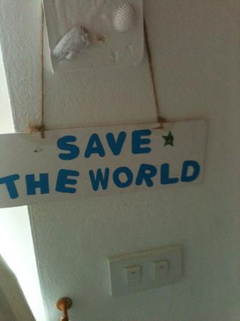 Baan KangMung HuaHin Resort: Save the World