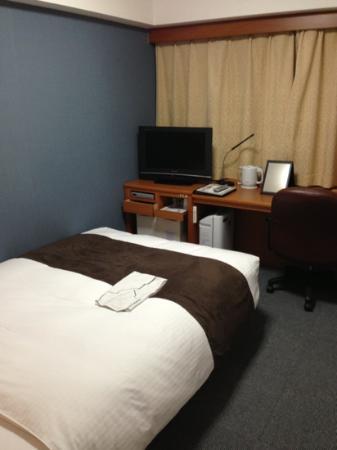 Richmond Hotel Miyazaki Station-Side: 部屋はかなりゆったりしています
