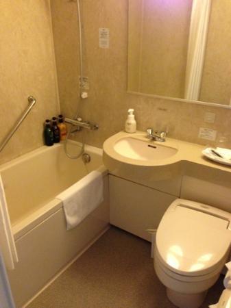 Richmond Hotel Miyazaki Station-Side: バスルームもかなり広めです