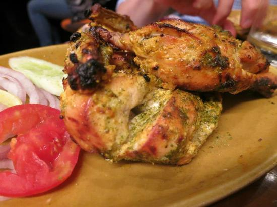 Bukhara: Murgh tandoori -- melt in your mouth chicken goodness!