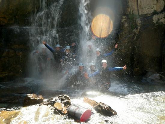 Speleo Canyon Ariege: La troupe