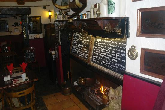 Coach and Horses: Fire place