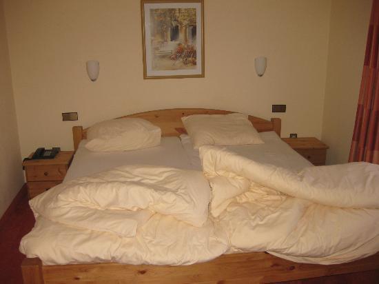 Hotel Altastenberg: 2 pers.bed past net